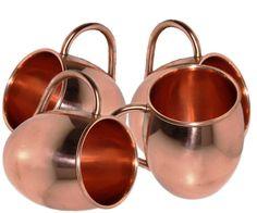 Pure/Solid Copper Barrel Mug For Moscow Mules 16 Oz #Visvabhavanah