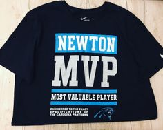 Show your love for Cam in this MVP tee!   Nike size XL...