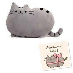 Pusheen shape Cat big pillow cushion biscuits Gray  Colors pusheen plush toy doll gift Sofa Decoration Home Decor
