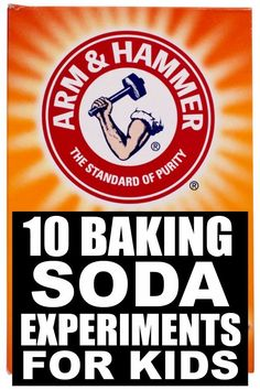 10 baking soda science experiments for kids