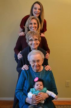 5 Generations Stacked