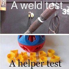 Different set of skills required.  #Welder #TheRoughneck #Oilfield #TheRoughneckMagazine #OilfieldLife