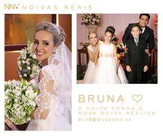 Bruna #eusounovanoiva #noivasreais #vestidosdenoiva #noiva #bride #weddingdress #weddingdresses #casamento