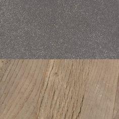 Reclaimed Natural Elm & Zinc Metal