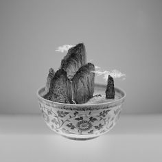 Musée de l'Homme, 17, place du Trocadéro, 75016 Paris / Photo Yang Yongliang, A Bowl of Taipei n°1, 2012.