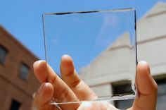 New transparent solar panels could fit invisibly over windows and phone screens | CityMetric