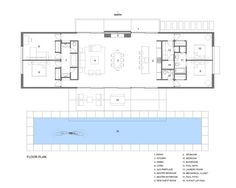 Westside Road Private Residence,Floor Plan