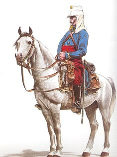 French - North African Chasseur.  These troops covered the Light Brigade's flank during their famous charge, and retreat.