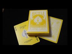 Bicycle Yellow Reversed Back Deck Video Review