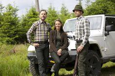 Jagdhemd, Jagdbluse und Bergschue von Jagdhund Monster Trucks, Hunting Camo, Hound Dog, Dogs, Jackets, Clothing