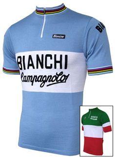 Bianchi Campagnolo Wool Jersey b9a36cbdc
