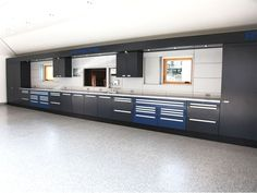 Custom garage storage cabinets and slat wall storage systems do it yourself garage storage click pic for various garage storage ideas garage solutioingenieria Image collections