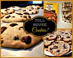 Toll House Cookies - authentic, delicious and QUICK to make.  #baking #cookies #dessert Ducks n a Row