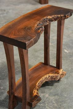 60 DIY Table Project for Beautiful Furniture in Your House Live Edge Furniture, Furniture Design, Tree Furniture, Cheap Furniture, Wooden Furniture, Antique Furniture, Cabin Furniture, Western Furniture, Furniture Dolly