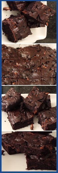 The simplest and richest brownie in life. Brownie Recipes, Cake Recipes, Dessert Recipes, Cake Cookies, Cupcake Cakes, Delicious Desserts, Yummy Food, Pan Dulce, Cakes And More