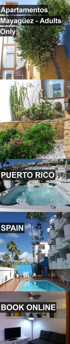 Hotel Apartamentos Mayagüez - Adults Only in Puerto Rico, Spain. For more information, photos, reviews and best prices please follow the link. #Spain #PuertoRico #travel #vacation #hotel