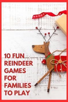 Have all kinds of fun playing these silly Christmas reindeer games. Reindeer games are great for kids, adults, the classroom or for a Christmas party at home. Which will you play first? #christmasgames #reindeergames #reindeergamesforkids #christmaspartygames #reindeerpartygames #kitchencounterchronicles Holiday Activities For Kids, Christmas Activities For Kids, Christmas Party Games, Family Activities, Crafts For Kids, Christmas Traditions, Christmas Recipes, Christmas Ideas, Reindeer Games