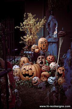pumpkin pile!