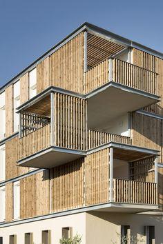Galeria de Habitação de Interesse Social em Aigues-Mortes / Thomas Landemaine Architectes - 4