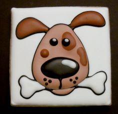 Flying Pig cookies  - cute puppy