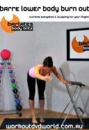 Barre Lower Body Burn Out DVD - $5.99