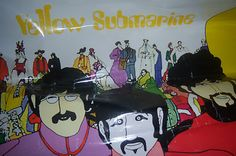 Original Beatles Yellow Submarine Poster auction ends in less than an hour starting bids at £20