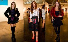 Os hits do São Paulo Fashion Week: saia midi, xadrez, bota com cano altíssimo e mais.