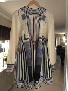 Fair Isles, Knitting Designs, Kimono Top, Sweaters, Tops, Women, Fashion, Tricot, Patchwork Ideas