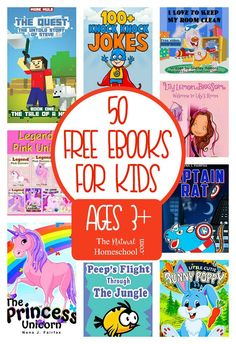 50 Free eBooks for Kids Download {Ages 3