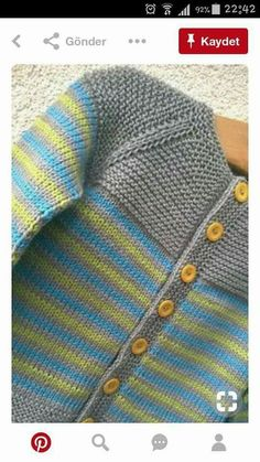 Baby Knitting Patterns Ravelry: Project Gallery for garter yoke baby cardi pattern . Baby Knitting Patterns Ravelry: Project Gallery for garter yoke baby cardi pattern . Diy Crafts Knitting, Knitting Blogs, Knitting For Kids, Knitting Projects, Free Knitting, Knitting Children Sweater, Free Childrens Knitting Patterns, Knitting Kits, Loom Knitting