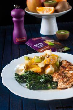 Filety z udek kurczaka z sałatką   Paszczaki gotują Ramen, Ethnic Recipes, Blog, Blogging, Windows