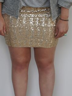 DIY glitter skirt. Things that need to happen in my life.