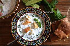 Cold Soup with Yogurt - Summer Soup Recipe -Մածնաբրդոշ - Heghineh Cookin...