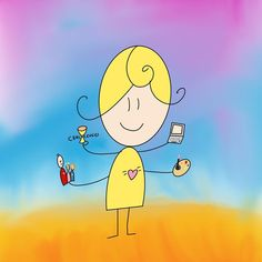 """@morgane.facilitation on Instagram: """"Mon petit autoportrait #autoportrait #softskılls #morganefacilitation #procreate #facilitationgraphique #bikablo #bikabloakademie"""" Snoopy, Fictional Characters, Instagram, Art, Self Portraits, Art Background, Kunst, Performing Arts, Fantasy Characters"""