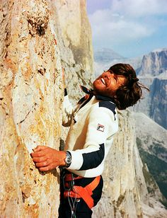 www.boulderingonline.pl Rock climbing and bouldering pictures and news Reinhold Messner