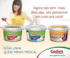 Queijo Minas Frescal Godam pra todos os gostos! Acesse nosso site: www.godam.com.br
