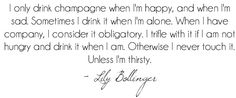 Champagne Quote by DolceDanielle, via Flickr
