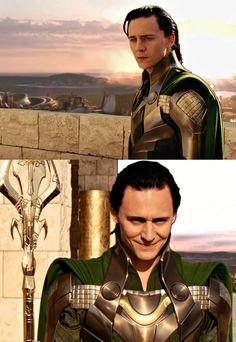 "Tom Hiddleston ""Loki"" Stills from the deleted scenes from ""Thor"" From http://foreverlokid.tumblr.com/post/105379535981"