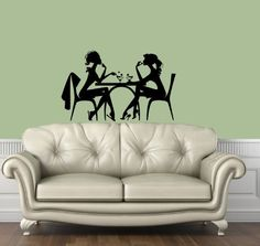 Housewares Vinyl Decal Fashion Girl in Cafe Kitchen Home Wall Art Decor Removable Stylish Sticker Mural Unique Design for Any Room Decal House http://www.amazon.com/dp/B00FWM4OUS/ref=cm_sw_r_pi_dp_cKOUtb16J15GVHEK