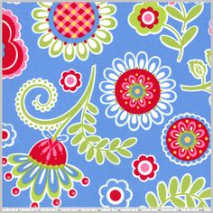 Bouquet de Fleurs - Blue