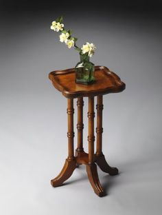 Butler Specialty 0937101 Masterpiece Accent Table in Olive Ash Burl by Butler Specialty. $139.00. Asian Accent Table in Olive Ash Burl from the Masterpiece Collection by Butler Specialty. Dimensions: 20.00 H 12.00 W - 0937101