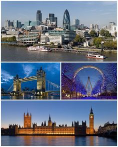 A cosmopolitan city famous for its red doubledecker buses the Tube Big Ben black cabs Buckingham Palace the London Eye and punk music. London will rock your events!I want to have tea and crumpets at Buckingham! Oh The Places You'll Go, Places To Travel, Travel Destinations, Places To Visit, Travel Tips, Big Ben, Dream Vacations, Vacation Spots, Budapest