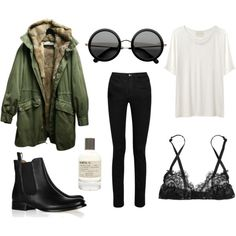 "Where did nice fall weather go? Getting ready for the cold. ""simple"" by stepharoberts on Polyvore"