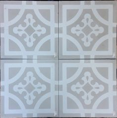 Grey Indian Earth Tile by Jatana Interiors. Beautiful shades of grey and warm white in a traditional Indian design. These Grey Tiles are reminiscent of the dry, cracked earth of the desert in India. Fireplace Hearth, Stove Fireplace, Fireplaces, Interior Styling, Interior Decorating, Fireplace Bellows, Current Picture, Buy Tile, Old Apartments