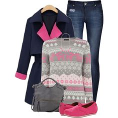 A fashion look from December 2014 featuring Warehouse sweaters, DL1961 Premium Denim jeans and Mozo flats. Browse and shop related looks.
