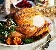 love crispy skin on roast turkey at christmas youll be fan of this - Best Christmas Dinners