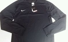 Boys padded elbow Medium longsleeve shirt dri fit nike Soccer/Football #Nike #shirt #Everyday