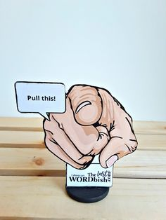 Pull My Finger Stand-up All-occasion Greeting Card, Possible noxious fumes may be activated Message In A Bottle, Gag Gifts, Stand Up, Funny Products, Greeting Cards, Finger, 3d, Creative, Get Back Up