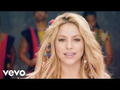 "Learn Spanish in a fun way with the music video and the lyrics of the song ""Waka Waka (Esto Es África)"" of Shakira Shakira, Time For Africa, Divas, Kawaii Disney, Waka Waka, Imagenes My Little Pony, Life Run, Press The Button, Improve Concentration"
