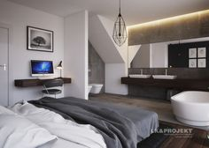 LK&1286 - projekt sypialni